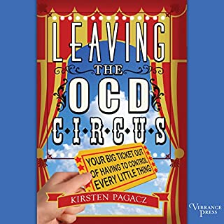 Leaving the OCD Circus audiobook cover art