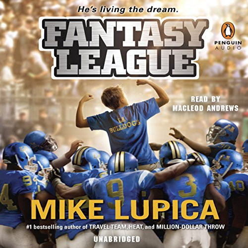 Fantasy League audiobook cover art