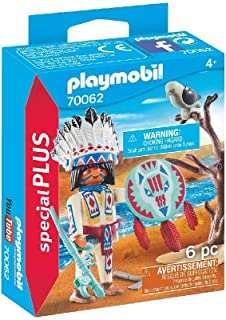 PLAYMOBIL 70062 Native American Chief,Multicoloured