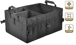 Car Trunk Organizer for Car Suv Trunk Organizers,Collapsible Trunk Cargo Storage Organizer, Car Accessories, Auto Grocery Organize Box, Vehicle Tools or Truck Storage Case. Storage bin (M1)
