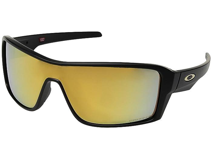 Oakley Ridgeline (Matte Black/Prizm 24K Polarized) Sport Sunglasses