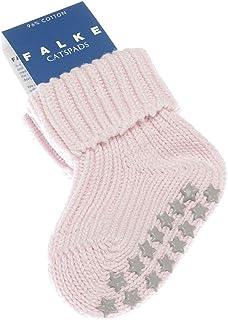 Falke, Calcetines bajos, 1 par, costuras planas con reverso antideslizante, cálido, algodón, color rosa