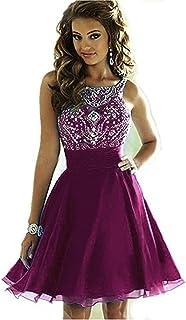 Short Purple Prom Dresses 2018