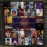 2021 Gift Prince 1999 Purple Rain Lovesexy Fan Lover Cotton Quilt Blanket & Quilt Bedding Set, Comfort Warmth Soft Cozy Air Conditioning Machine Wash.