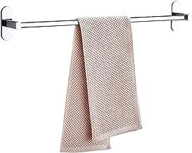 Badkamer handdoekbar badtoebehoren dikker roestvrij staal douche handdoekenrek voor badkamer handdoekhouder wandmontage 2...