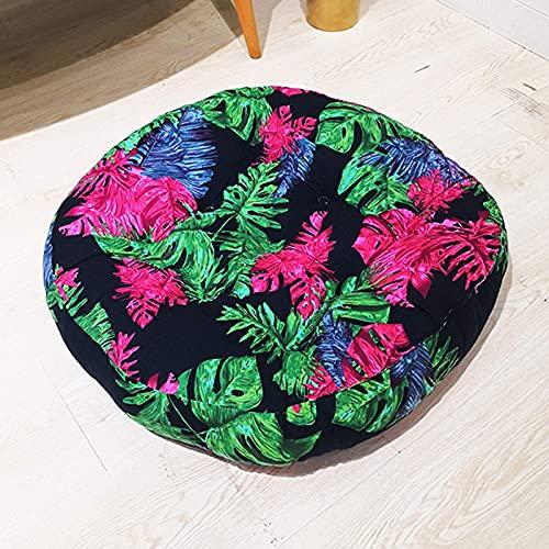 HYLX Cojines universales Antideslizantes para sillas, cojín de Tatami con Estampado de futón para sillón de Suelo, cojín Elevador en el cojín del Asiento para jardín, Patio, Cocina, Comedor