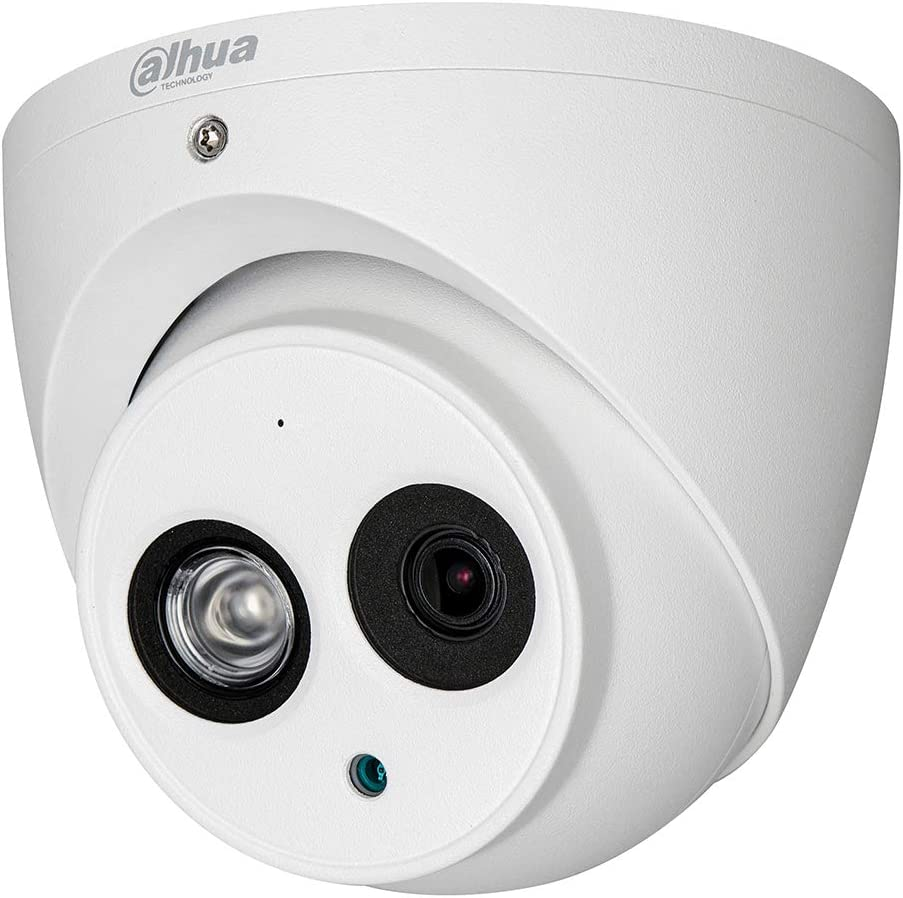 Dahua Lite 2MP HDCVI IR Eyeball 2.8mm Multi-Format Starlight Security Camera, White (A21CG02)