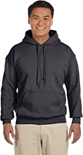 18500 - Classic Fit Adult Hooded Sweatshirt Heavy Blend - First Quality - Charcoal - 4X-Large