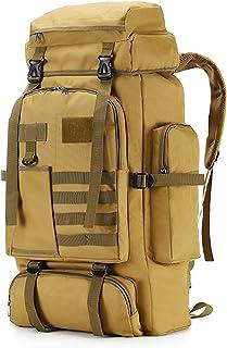 75L Hiking Backpack Outdoor Durable Waterproof Backpack for Hiking, Backpacking, Traveling, Camping, Daypack
