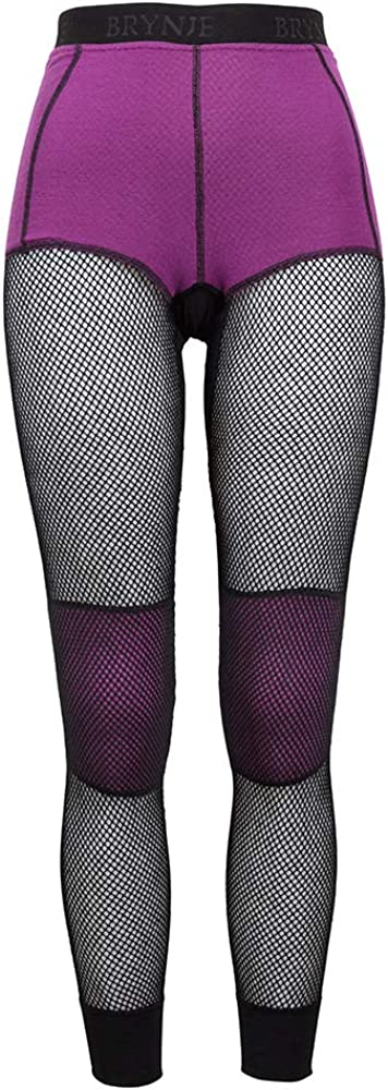 Brynje Women's Merino Wool Thermo Inlay Layer Longs with Chicago Mall At the price Base