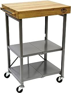 Bradley Smoker Foldable Kitchen Cart, One Size