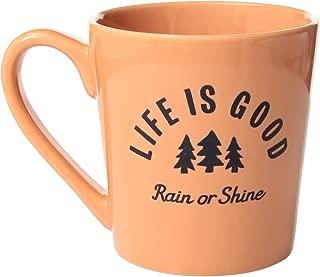Life is good Everyday Rocket Cat Toss Mug