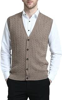 Best cable knit sweater vest men Reviews
