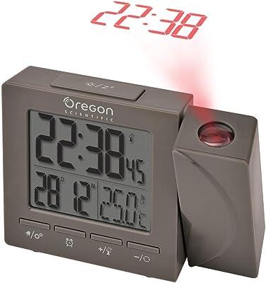 Oregon Scientific Despertador Compact Proyector, plástico, Gris ...