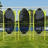 FORZA Barrera de Fútbol con Muelles para Entrenamientos | Muñecos Barrera Defensa