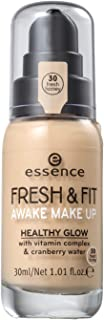 essence | Fresh & Fit Awake Make Up Foundation with Vitamin Complex & Cranberry Water | Fresh Honey