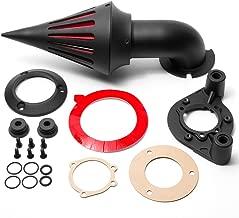 Krator Black Spike Air Cleaner Intake Filter For 2000-2006 Harley Davidson XL Models Sportster