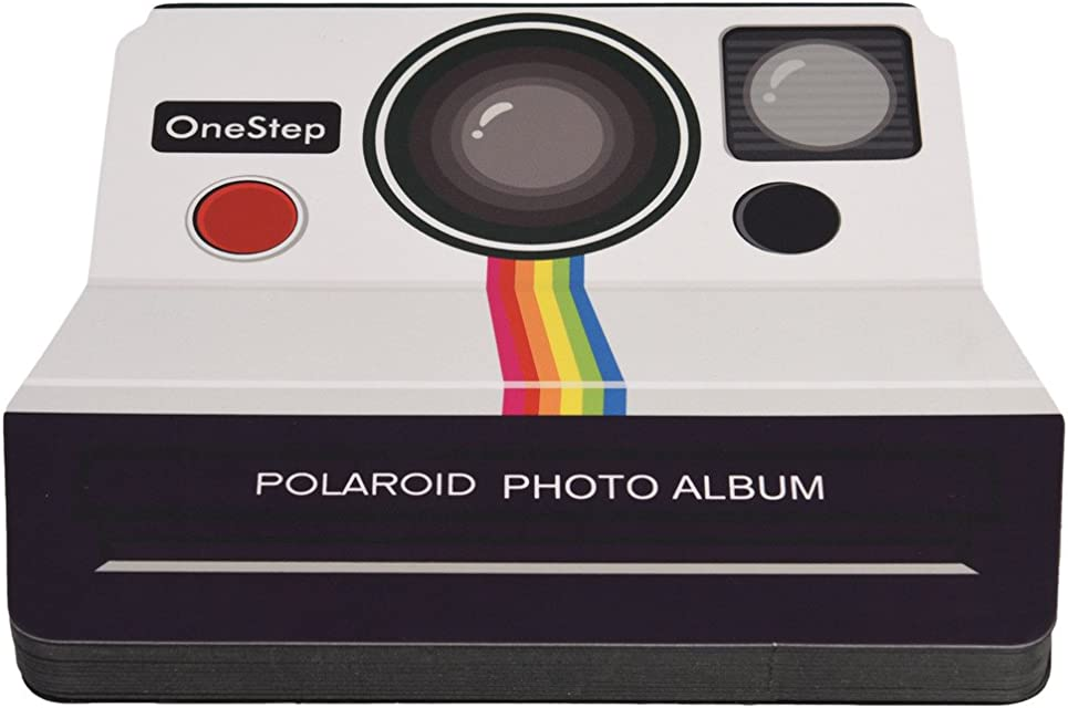 Impossible 599371031 - Á lbum Scrapbook Polaroid cámara Vintage