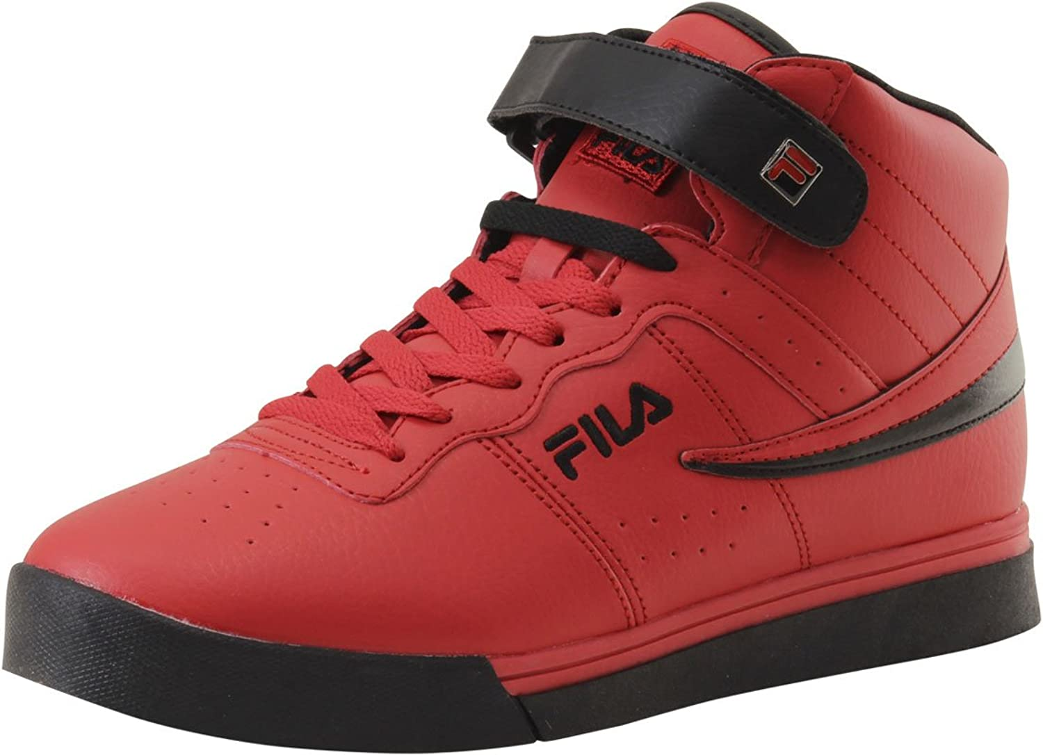 Fila Men's Vulc 13 MID Plus 2 Walking schuhe, rot schwarz, 11.5 D US