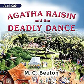 Agatha Raisin and the Deadly Dance cover art
