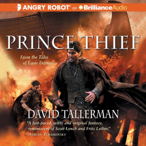 Prince Thief audiobook cover art