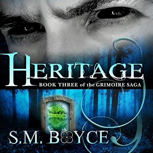 Heritage     Book 3 of the Grimoire Saga              By:                                                                                                                                 S. M. Boyce                               Narrated by:                                                                                                                                 Kara Kovacich Stewart                      Length: 9 hrs and 35 mins     26 ratings     Overall 4.7