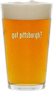 got pittsburgh? - Glass 16oz Beer Pint