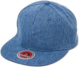 NEWHATTAN ニューハッタン デニム フラットバイザー キャップ 帽子