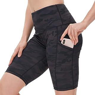 Biker Shorts Women Tummy Control Running High Waisted...
