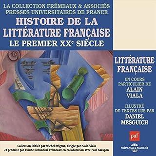 Couverture de Le premier XXe siècle (Histoire de la littérature française)