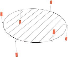 SPARES2GO Estante de alambre giratorio para horno Bosch de microondas (255 mm)