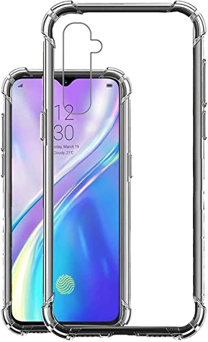 Realme X2 Realme XT Soft Silicone Shockproof Bumper Case Back Cover in Transparent Air Cushion Technology for realme x2 realme xt