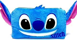 Stitch Plush Pencil Makeup Pouch Zipper Bag