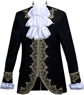 Mens Prince Charming Costume Royal Tuxedo Luxury Dress Blazer Pants