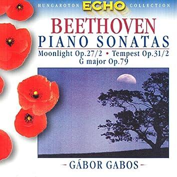 Beethoven: Piano Sonatas Nos. 14, 17 and 25