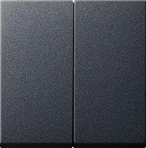 Gira 026628 Serienwippen mit Set IP44 System 55, anthrazit