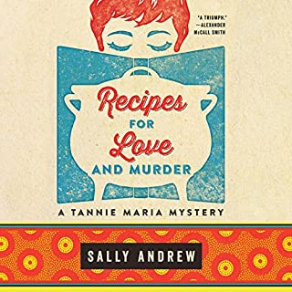 Recipes for Love and Murder audiobook cover art
