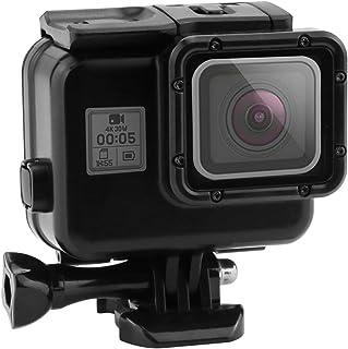 GoPro HERO 7/6/5 Black (2018) ブラック対応 | 黒い金剛 | ダブルロック| 45m水深ダイビング| 防水防塵保護ハウジング| Go Pro Hero7 Hero6 Hero5 アクションカメラ対応 水中撮影用