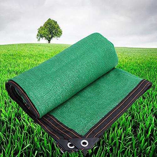 Shade Net WYZQQ lampenkap van stof, voor tuin, poort, groen net met rubber, 85% schaduwhoes