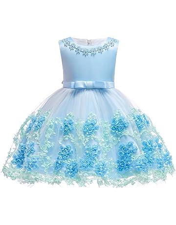 3c20b4b8c3f40 S T ドレス 子供 キッズ 発表会 結婚式 演奏会 七五三 ワンピース フォーマル 女の子 ジュニア 花