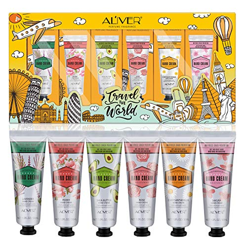 Hand Cream Gift Set, 6 Pack Hand Lotion Enriched with Shea Butter to...