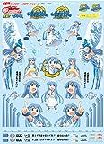 グッドスマイルレーシング GSRキャラクターカスタマイズシリーズ デカール020/侵略 イカ娘 1/24scale用