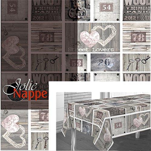 Nappe ronde 1m60 référence 94557 street lovers anti tache infroissable