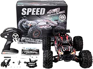 Meiyiu RC Car X-03 2.4G 1/10 4WD Brushless High Speed 60KM/H Big Foot Vehicle Models Truck Off-Road Vehicle Buggy RC Elect...