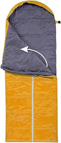 QFFL shuidai Enveloppe Sac de Couchage Splicable imperméable à l'eau idéal 4 Saisons de Voyage Camping randonnée Sac de Couchage rectangulaire (190 + 30)  75cm