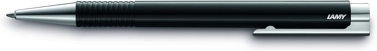 LAMY Black Logo M+ Ballpoint Pen with Black Ink (L204MBK)