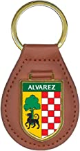 Alvarez Family Crest Coat of Arms Lot of Total Key Chains