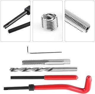 Entweg Kit de inserto de reparo de rosca métrica de 30 unidades M3 M4 M7 M9 M11 Helicoil Car Pro Coil Tool M4 * 0,7