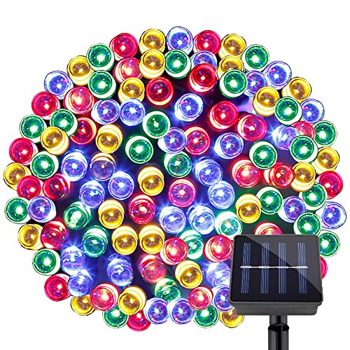 Lighting Ever 100 LED fairy lights, 10 m, multicolour, 8 modes with memory function for parties and Christmas decorations
