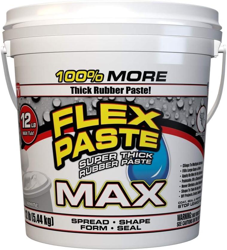 Flex Manufacturer regenerated product Paste MAX 12 Tub White lb Memphis Mall